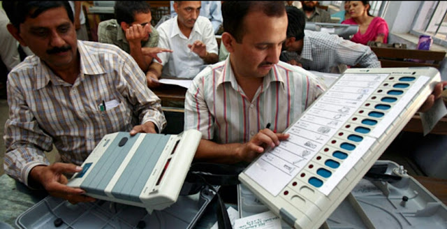 Behind EVM in India