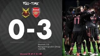 Oestersunds FK vs Arsenal 0-3 Highlights