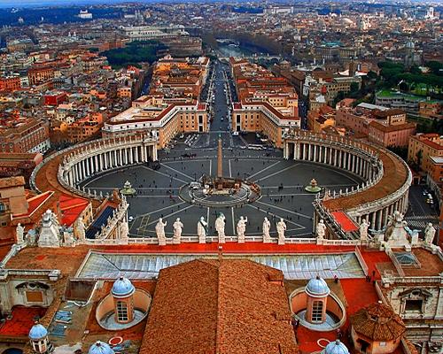 Ватикан — самое маленькое суверенное государство в мире