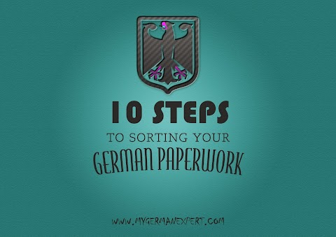10 Steps to sorting your German paperwork