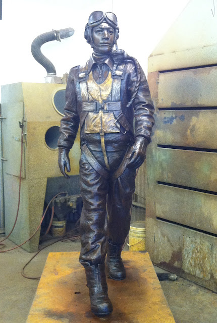 tuskegee airman sculpture