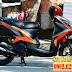 Sơn xe Luvias GTX phối màu cam đen