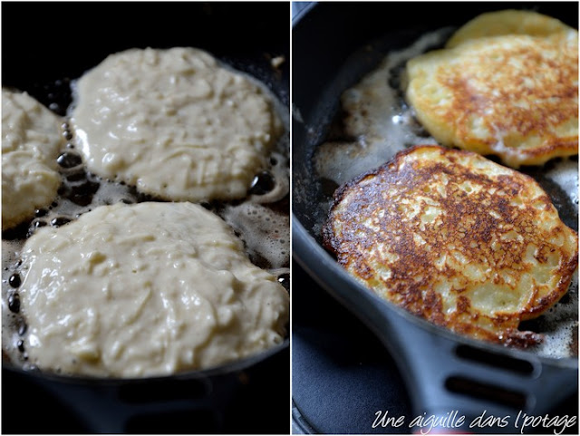 Le boxty, pancake irlandais aux pommes de terre