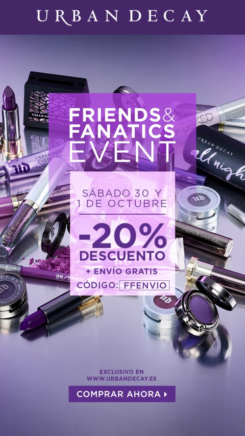 Friends&Fanatic de Urban Decay