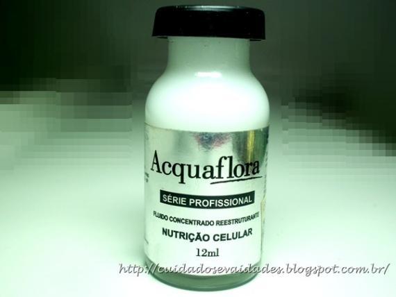 Acquaflora Fluido Concentrado Nutrição Celular