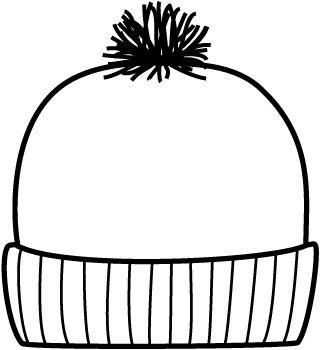 Tranh tô màu mũ len