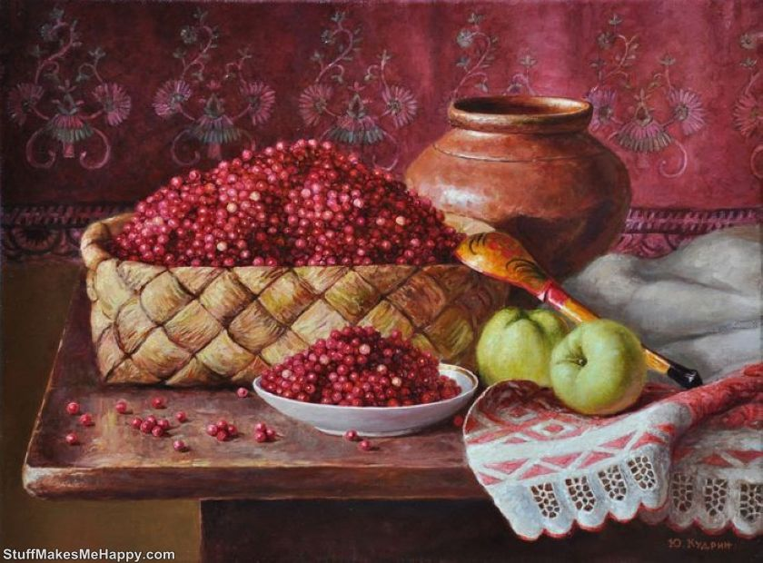Still Life Photography and Soul Landscapes: Beautiful Realistic Paintings by Yuri Kudrin