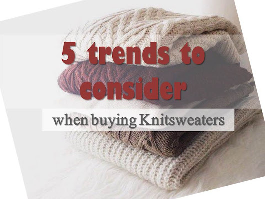 5 trends to consider when buying knitsweaters #shein