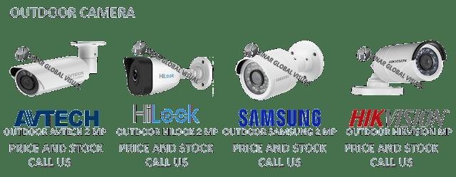 Katalog Promo Kamera CCTV Outdoor HIKVISION, AVTECH, HILOOK, SAMSUNG, AHD, STEALTH