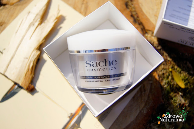 Sache Cosmetics - Naturalny krem do twarzy dla skóry normalnej