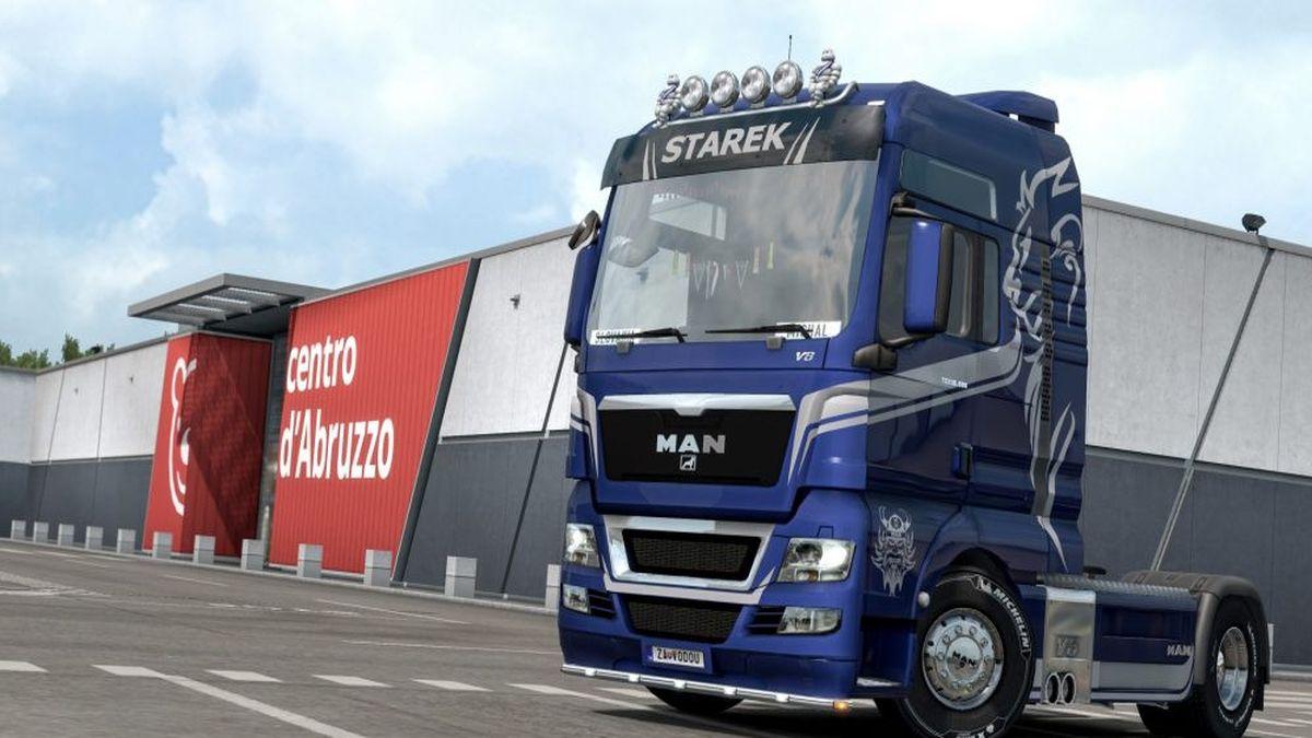 MAN Euro5 Starek Transport Skin