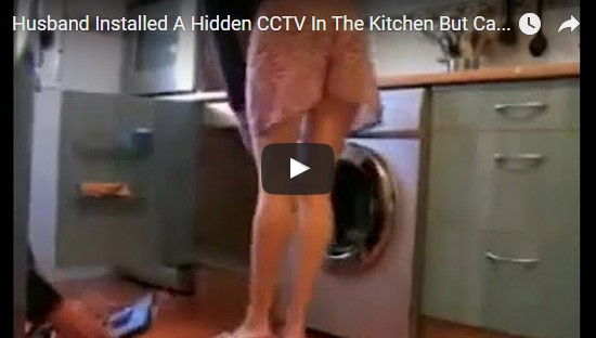 WATCH: Caught on CCTV What Her Wife Did With a Plumber in the Kitchen Will Shock You!