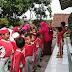 Koramil Cimanggu Didatangi Puluhan Anak TK Al Ikhwan