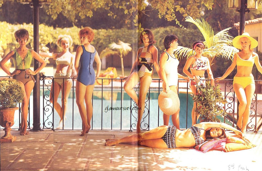 5f2f1db87bc9d Glamoursplash  Swimsuits of the 1960s