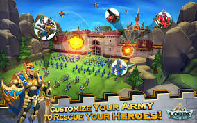 Lords Mobile Mod Apk v1.41 (Unlimited Gems) Full version