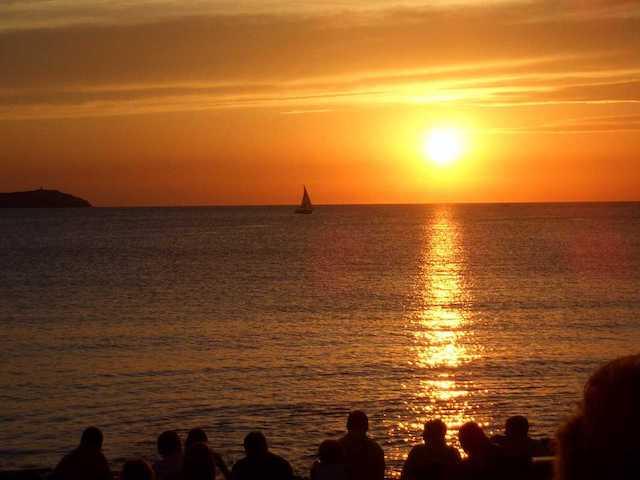 Pôr-do-Sol no Café del Mar em Sant Antoni