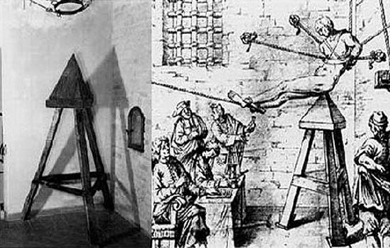 Torturas Medievais - Cadeira de Judas