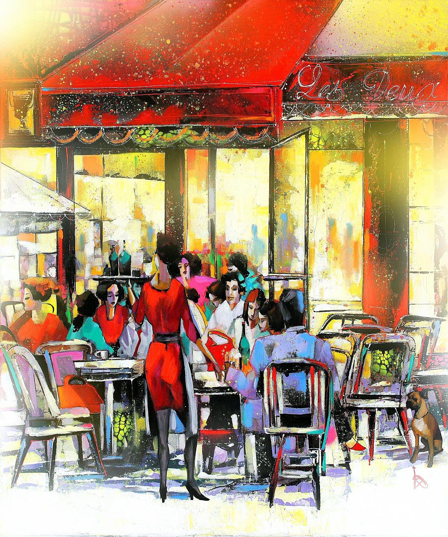 Ira Tsantekidou Cafe Paris