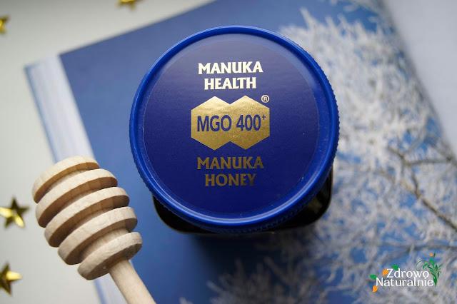 MANUKA HEALTH - Oryginalny nowozelandzki miód manuka MGO™ 400+