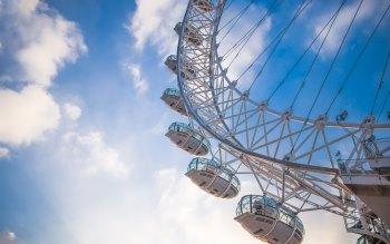 Wallpaper: London Eye