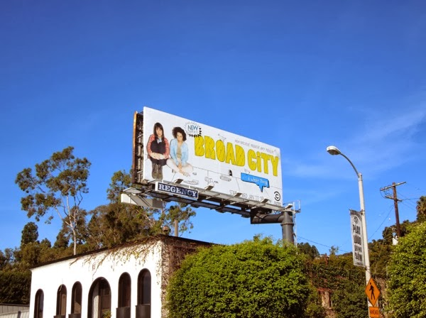 Broad City season 1 billboard