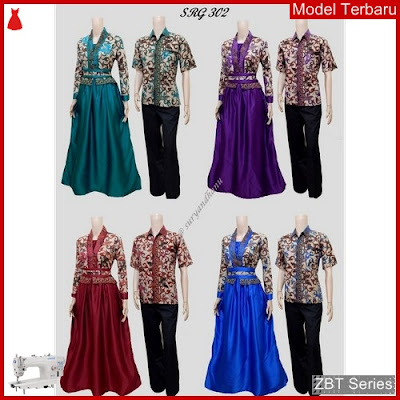 ZBT04309 Kebaya Batik Couple 302 Model Guru BMGShop
