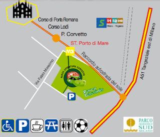 Come Raggiungere il Parco Avventura Corvetto
