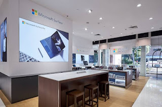 Source: Microsoft. The first Surface Store experience in  Southeast Asia is at the Harvey Norman Millenia Walk Flagship Superstore in Singapore.