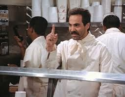 No Soup For You, Soup Nazi Larry Thomas, Soup Nazi Seinfeld
