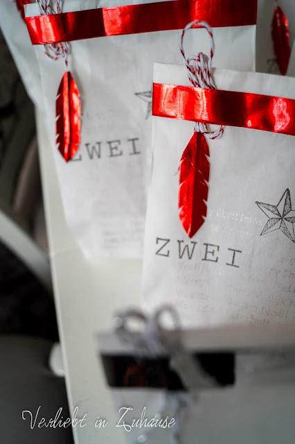 Inspiration: Weihnachtliche Verpackung von Geschenke