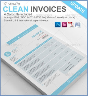 graphic design invoice template pdf