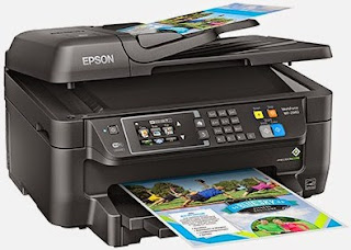 at Epson is essentially a similar printer like the Epson WorkForce WF Epson WF-7620 Driver Printer Download