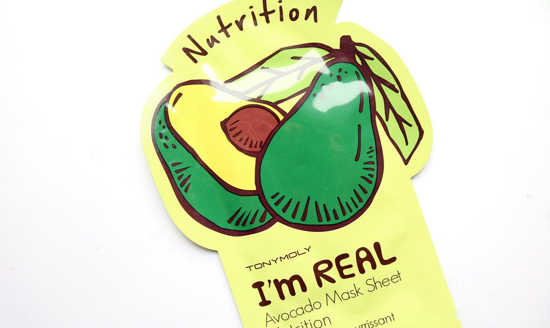 Tony Moly Avocado Nutrition Sheet Mask