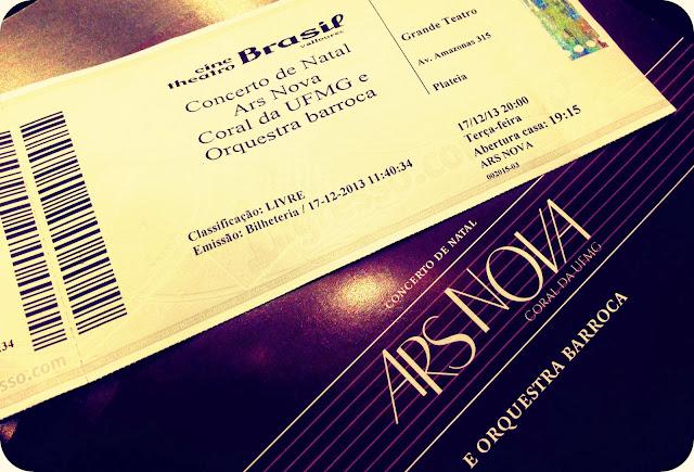 Concerto de Natal : Ars Nova - Coral da UFMG e Orquestra Barroca