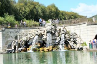 fontane, delfini, acqua, cascata,giardini