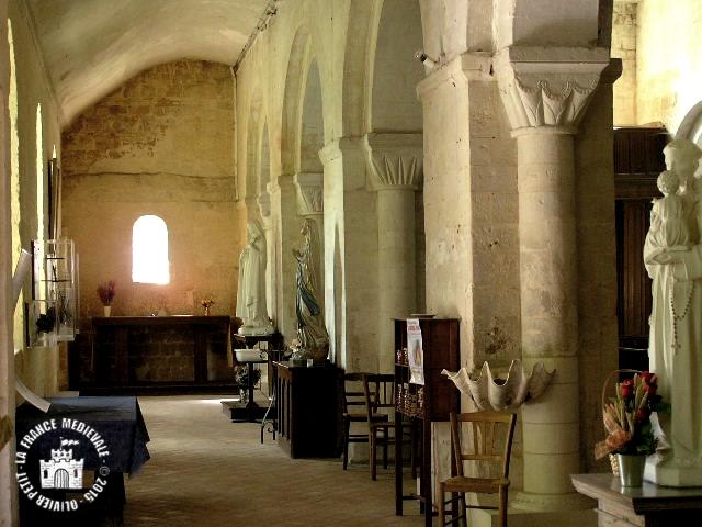 QUILLEBEUF-SUR-SEINE (27) - Eglise Notre-Dame-de-Bon-Port (Intérieur)