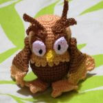 patron gratis buho amigurumi | free pattern amigurumi owl