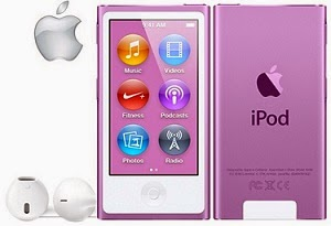 APPLE IPOD NANO 16GB 7TH GEN FM RADIO for Rs.7156 Only @ ebay