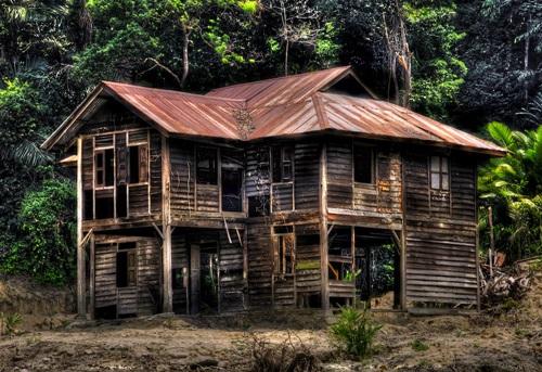 rumah lama, rumah buruk, rumah seram
