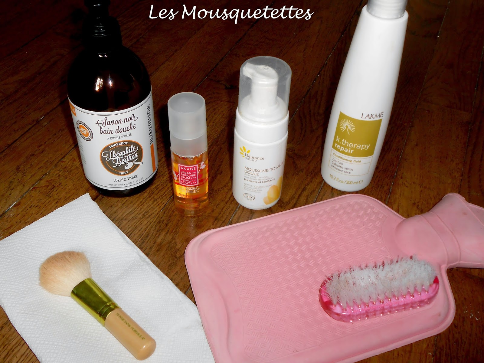 Méthode nettoyage pinceau - Les Mousquetettes©