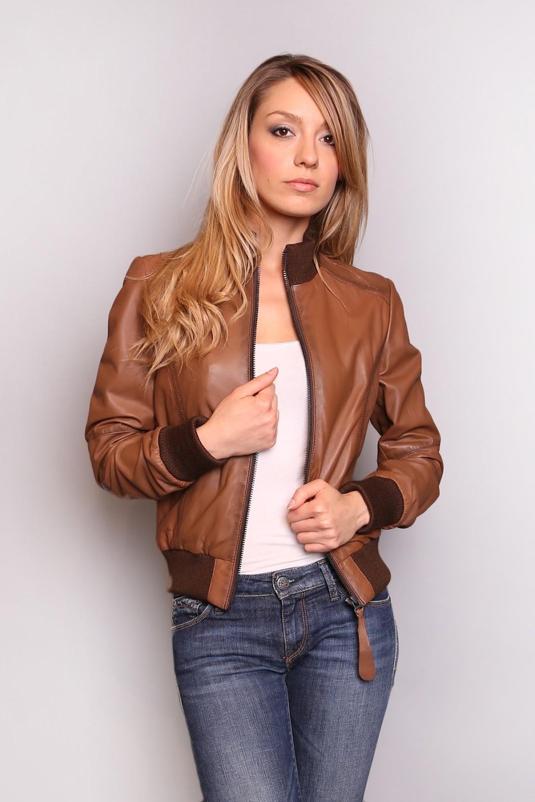 Super Blouson cuir femme QA48