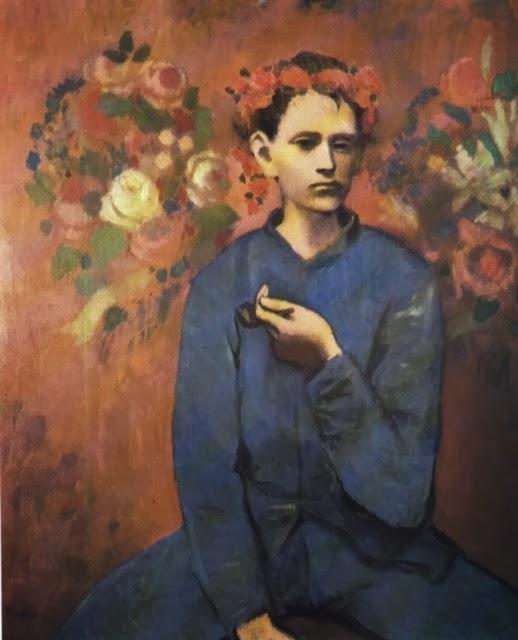 el periodo azul y rosa de Picasso obras