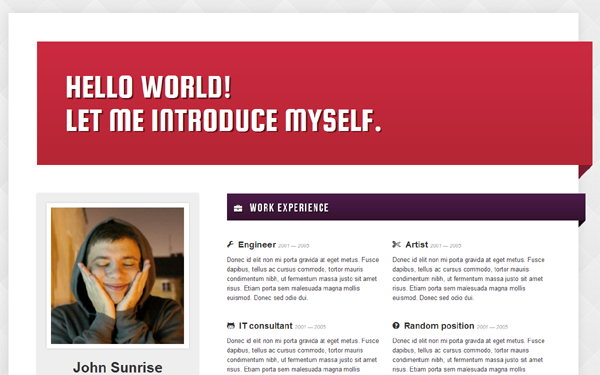 create a resume web page create an online resume webpage create a free website best 15