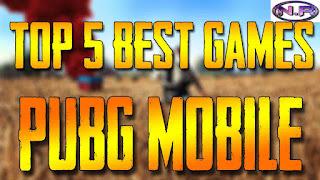 TOP 5 BEST GAMES LIKE PUBG|TOP 5 BATTLE ROYALE GAMES LIKE PUBG