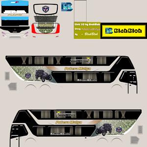 Livery Bussid Putra Mulya SDD