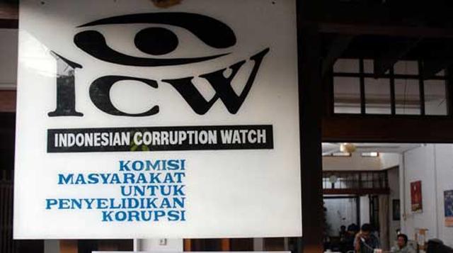 ICW Sebut 4 Parpol ini Korupsi Politik Kelas Kakap