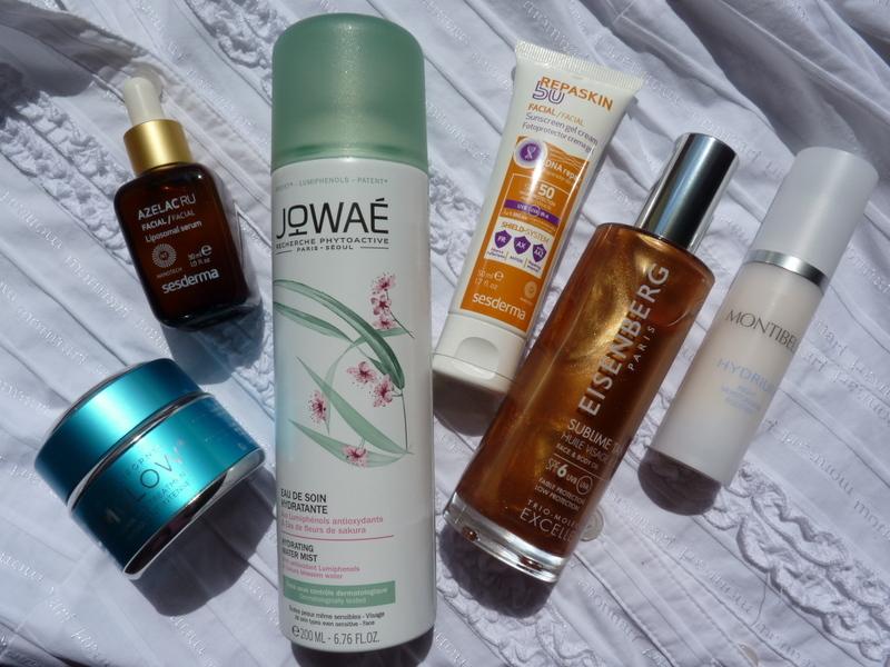 ulubione kosmetyki w miesiącu lipcu