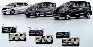 Tampilan Honda Freed