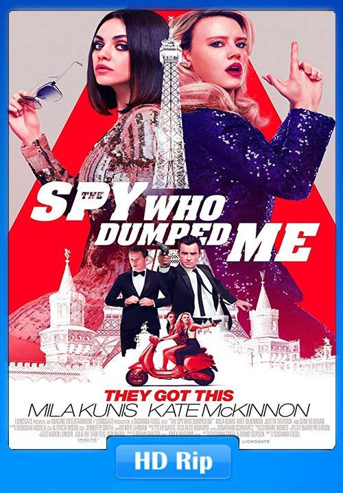 The Spy Who Dumpe Me 2018 720p WEBRip x264 | 480p 300MB | 100MB HEVC
