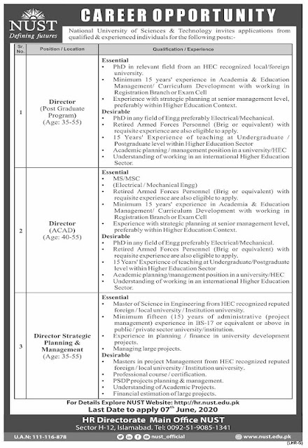 national-university-of-science-technology-jobs